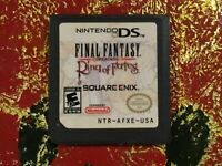 Final Fantasy A2 IV XII Ring o fates Game Cards Nintendo 3DS NDSI NDS Lite a F01