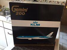 "1:200 Gemini200 G2KLM395 B777-200ER KLM PH-BQC ""Chichen-Itza"""