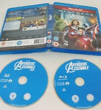 Avengers Assemble Blu-ray 3D FAST FREE POST EXCELLENT CONDITION