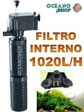 FILTRO INTERIOR TAMAÑO 35CM!!! 1000L/H CON BIOBOLAS Acuario Pecera INTERNO 14w