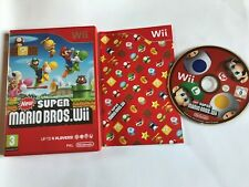 New Super Mario Bros / Boxed With Manual / Nintendo Wii  PAL