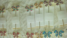 Joblot 12pcs Butterfly design Ladies metal hair pin NEW wholesale lot 2