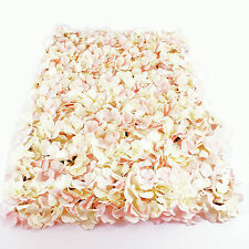 Flower Wall Panel 40cm x 60cm Pink Artificial Hydrangea