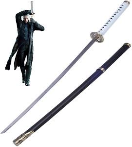 Devil May Cry Handmade Katana Vergil Real Metal Yamato Sword Cosplay Replica NEW