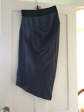 SORTSMAX NEW WOMEN'S BLUE ASSYMETRICAL SKIRT SIZE 12