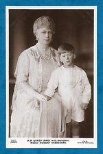 1926 RP PC QUEEN MARY WITH GRANDSON HUBERT LASCELLES