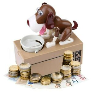 Cartoon Robotic Dog Money Box Coin Money Saving Box Kids Gift Money saver