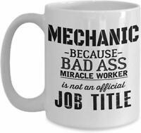 Mechanic Dad Mug - Gift For Husband Cup - Funny Mechanic Coffee Mug