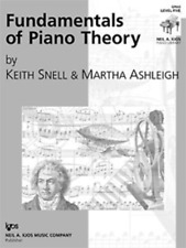 Set of Two Fundamentals of Piano Theory, Levels 5 & 6