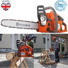 "Husqvarna Petrol Chainsaw Tree Surgery Prune Cutter 2 Stroke 14"" 120 236"