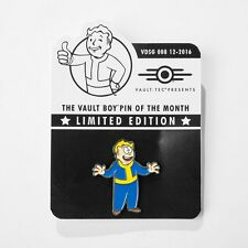 Fallout Vault Boy Limited Metal Pin Of The Month Idiot Savant Perk - 3 4 5