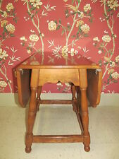 Ethan Allen's Baumritter Colonial Butterfly Drop Leaf End Table Heirloom Maple