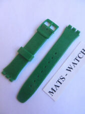 Swatch + cinta original de silicona + Gante +agg213 Deep Shine Green +17mm+neu/new