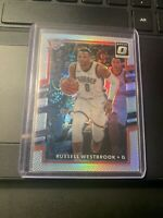 2017-18 Optic Basketball RUSSELL WESTBROOK Silver Prizm #101 *THUNDER