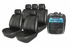 Premium Leatherette Seat Cover Full Set - Universal Leather Look
