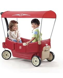 New In Box Step2 Canopy Wagon