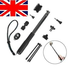 Selfie Stick 36cm to 110cm Handheld Monopod Camera Extender Pole for GoPro New