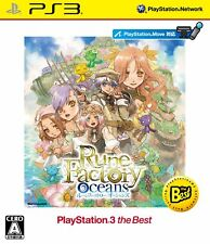 UsedGame PS3 Rune Factory Oceans PlayStation3 the Best Japan Import