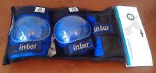 INTER Protezioni skate pattini gomitiere ginocchiere polsiere skateboard roller
