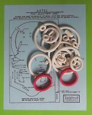 1976 Williams Aztec pinball rubber ring kit