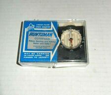Vintage Silva Huntsman Compass Liquid Filled With Original Box Made In Sweeden