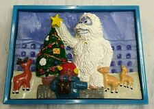Rudolph The Red Nosed Reindeer Magnet w/ Abominable Snow Man & more