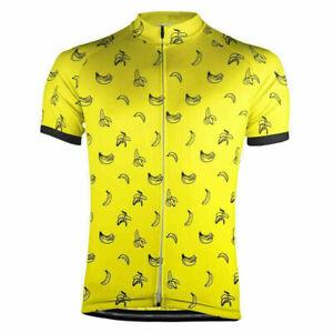 Must Be Bananas Cycling Jersey cycling Short Sleeve Jersey