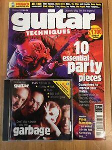 Guitar Techniques magazine & CD: Christmas 1998