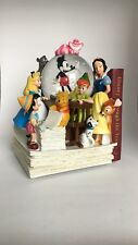 Disney Store Through The Years Vol. 1 Musical Snow Globe Mickey Alice Pooh Baloo