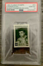 1964 World Champion Boxers Stamp  #23 Cassius Clay / Muhammad Ali PSA 10 🔥