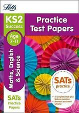 KS2 Maths, English and Science SATs Practice Test Papers by Letts KS2...