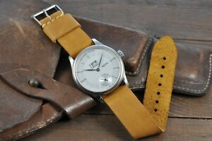 Watch Strap Leather Handmade Mens and Women Watch Band Leather 12mm - 26mm
