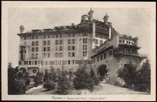 cartolina VARESE campo dei fiori-grand hotel