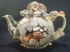 Harmony Kingdom Cracking Brew Teapot Paul Cardew Peter Calvesbert Le #3065/3850