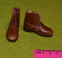 DRAGON IN DREAMS 1/6 SCALE WW I FRENCH PASCAL DUBOIS LOOSE BROWN BOOTS
