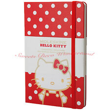 100% AUTH MOLESKIN HELLO KITTY LIMITED EDITION HARD COVER PLAIN POCKET NOTEBOOK