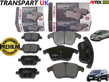 FOR FORD S-MAX GALAXY 2007 TO 2015 FRONT AND REAR BRAKE DISC PADS PREMIUM QUAL