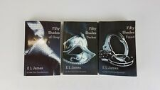 E.L. James Fifty Shades Of Grey Trilogy Paperback Book Lot Grey, Darker, Freed