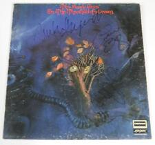 """THE MOODY BLUES Signed Autograph """"On The Threshold Of A Dream"""" Album Vinyl LP"""