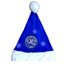 Queens Park Rangers Christmas Santa Hat Blue Gift New Official Licensed Product