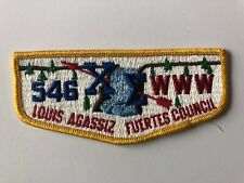 Chi Sigma Lodge 546 S2a OA Flap patch Order of the Arrow Boy Scouts mint
