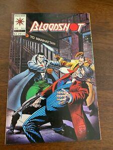 "Bloodshot #3 (Apr 1993, Valiant) ""Crime Lords of Flatbush"" NM-"