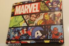 MARVEL HEROES ! bi fold wallet X-Men deadpool Marvel Comics US Seller Stan lee