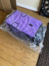 BestPet T13 3 Wheels Pet Cage Stroller - Purple