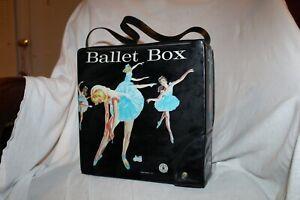 Vintage Mattel 1966 Ballet Box in Black Very Nice Condition