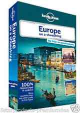 NEW LONELY PLANET EUROPE ON A SHOESTRING TRAVEL GUIDE BOOK MAPS IMAGES TRIP TOP