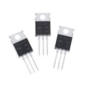 10Pcs New IRL540 IRL540N Leistungs-MOSFET TO-220_H1