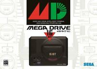 SEGA Mega Drive Mini 1 Controller 16 bit Vintage Game Collector Console JAPAN