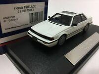 po 1/43 HI STORY HS064WH HONDA PRELUDE 2.0Si COUPE (1985). JDM model car white
