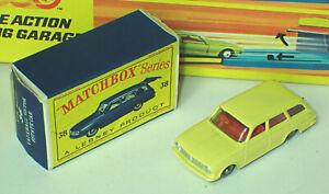 Matchbox 38b Vauxhall Victor Estate Car Mint in Fairly Good Box